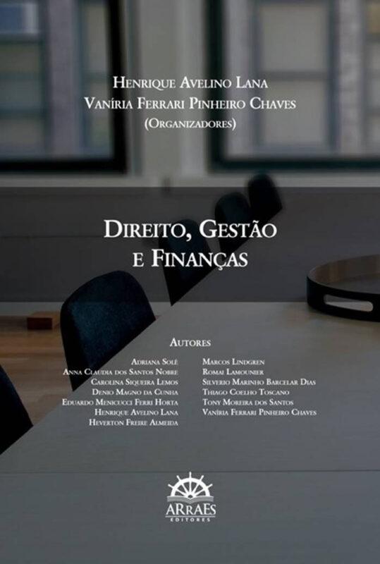 Livro Direit, Gestão e Finanças